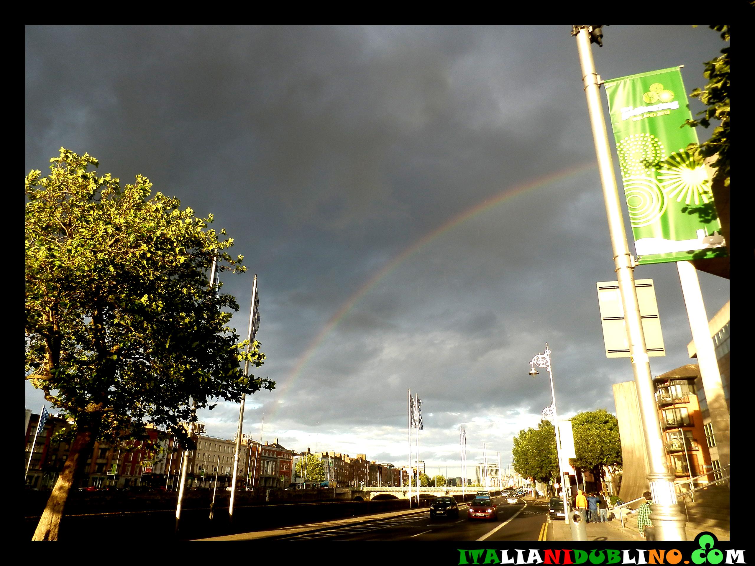 Arcobaleno sul Liffey
