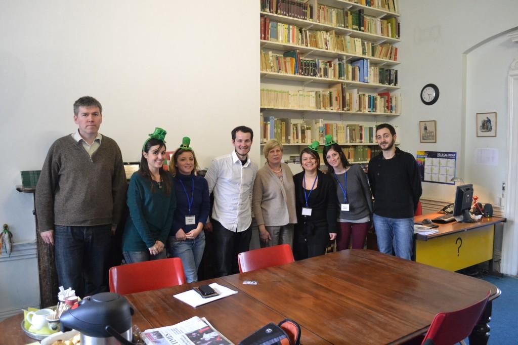 istituto italiano di cultura a dublino la presentazione