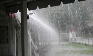 Pioggia in Irlanda