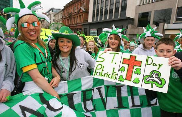 san patrizio in irlanda