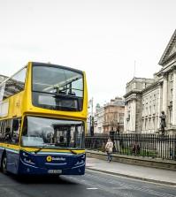sciopero dei trasporti a Dublino